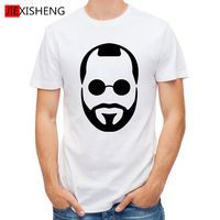 2016 Time-limited 2017 Funny Jason Statham Avatar Pattern Men T Shirt 100% Cotton Short Sleeve Clothes Summer Tops Tees Gl239