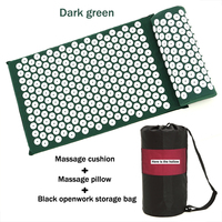 Acupuncture Needle Massage Pillow Acupressure Mat Head Neck Back Foot Massager Cushion With Pillow Yoga Spike Mat Anti stress