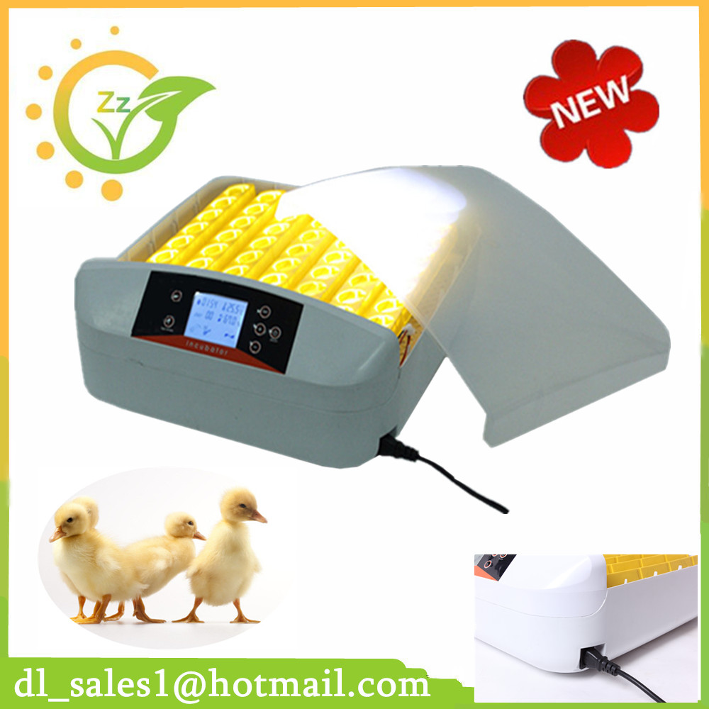 220V Hatchery Machine LCD Screen Chicken Incubator Egg Fully Automatic Hatcher Auto Turning for Sale