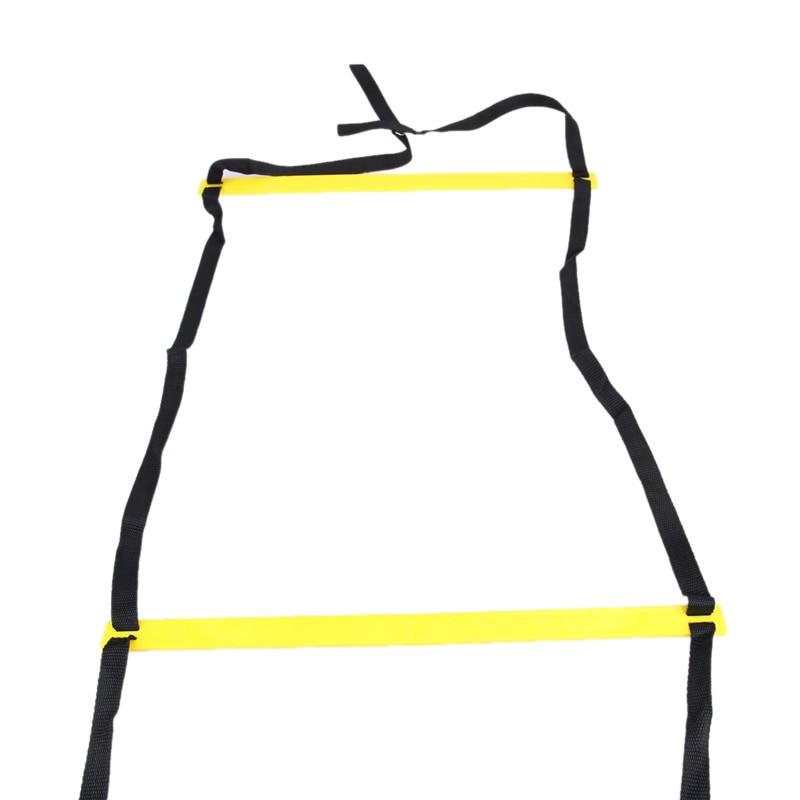Dauerhafte 12-Fuß-6-m-Wendeleiter mit 18 Sprossen für - Fitness und Bodybuilding - Foto 3