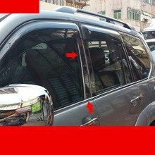 Lsrtw2017 окна автомобиля украшения планки для Toyota Land curiser Prado 2003 2004 2005 2006 2007 2008 2009 J120