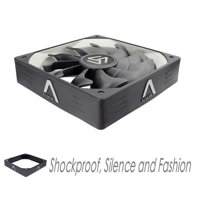ALSEYE Kühler PC Fan 3Pin 12 V 120mm Fan Kühlung (3 teile/los) 1200 RPM Stille Fall Fans