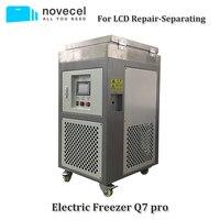 Novecel Q7pro 220 V 185 градусов ЖК дисплей Экран морозильник сепаратор для samsung край OLED Стекло отделяя Ремонт Замена