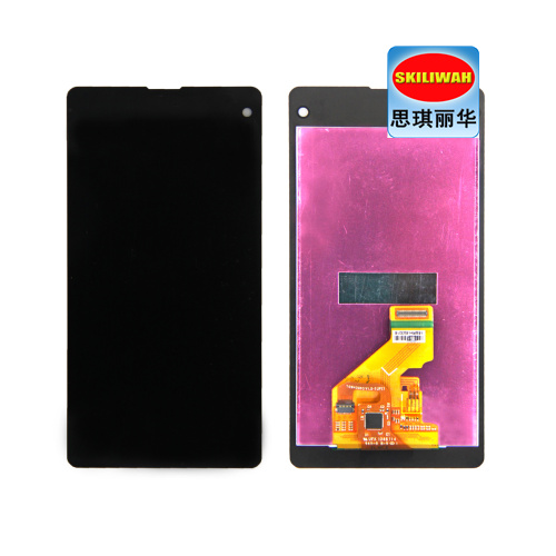 ФОТО Free Shipping For Sony Z1mini Compact M51w LCD Touch Screen Digitizer Glass Assembly Free Shipping& Tracking Number +Tools