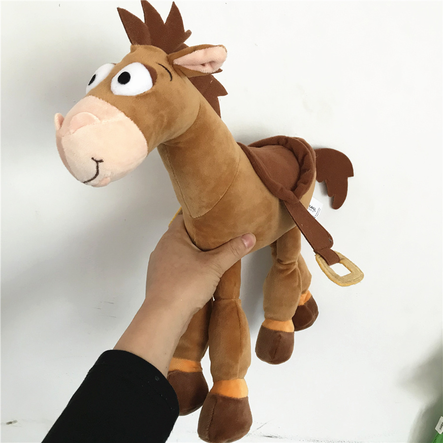 1pcs 35cm Toy Story Bullseye Horse Plush Toy Cute Stuffed Animals Kids Toys for Children Gifts bolafynia factory outlets cute chibi maruko chan plush toy birthday and christmas gifts children stuffed toys