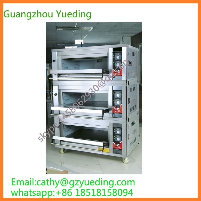 цена на gas bread deck oven/ electric bakery oven prices/ baking pizza machine