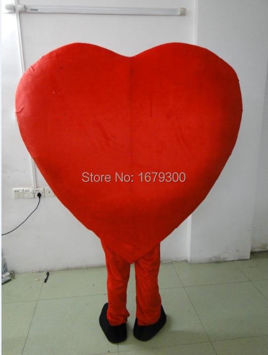 BING RUI CO Ειδική μασκότ παντρεμένη Valentine, - Καρναβάλι κοστούμια - Φωτογραφία 3
