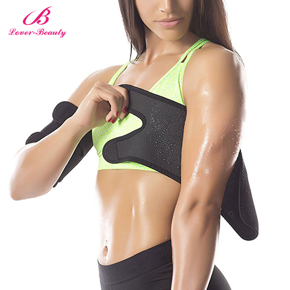 Lover Beauty Arm Trimer(1 Pair) Neoprene Trainer & Shaper Slimming Flex Sauna Weight Loss Belt Waist Trimer Sweating For Women