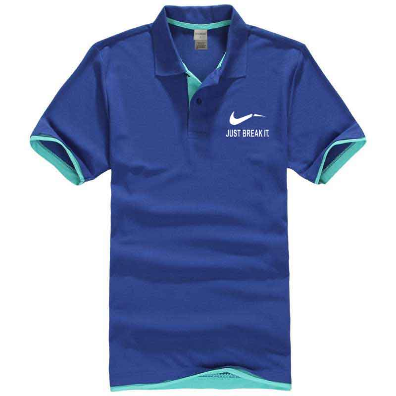 US Navy Hospital Corpsman Men Regular Fit Cotton Polo Shirts Classic Short Sleeve Polo Black