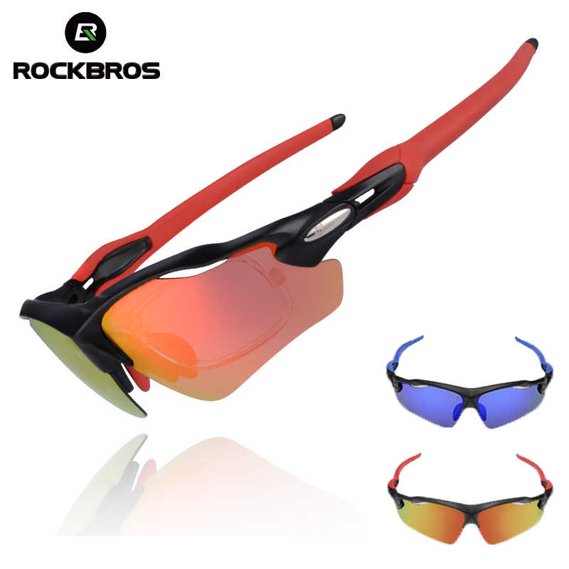 0119885c5d ROCKBROS Polarized Cycling Glasses UV400 Sport Cycling Eyewear Ultralight  Riding Bike Bicycle Sunglasses For Men Women