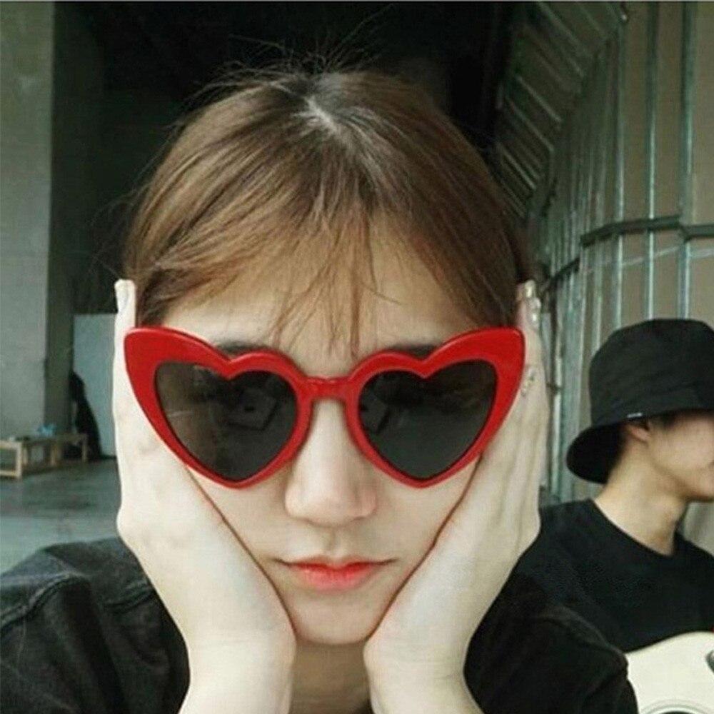 Strict Pink Love Heart Shaped Sunglasses Retro Uv400 Women Fashion 2019 Glasses Vintage Female Cute Lolita Eyewear Girls Shades #fn80 Limpid In Sight Women's Glasses