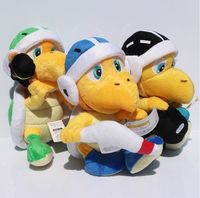 Retail 1pcs 8 20cm Super Mario Koopa Troopa Hammer Brother Stuffed Plush Doll Soft Toys WIth