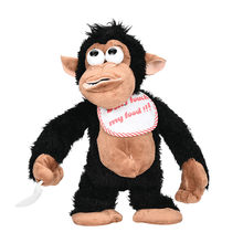 2018 New items Novelty Funny Crying Monkey Electronic Stuffed Toy Tricky Doll For Kids & Adults for children Birthday Gift B2(China)