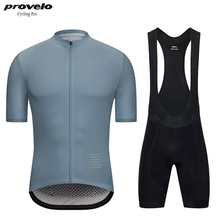 цена на Cycling jersey set 2019 PRO bike team men's summer quick dry cycling clothing Ropa ciclismo bicycle MTB jersey bib shorts kit