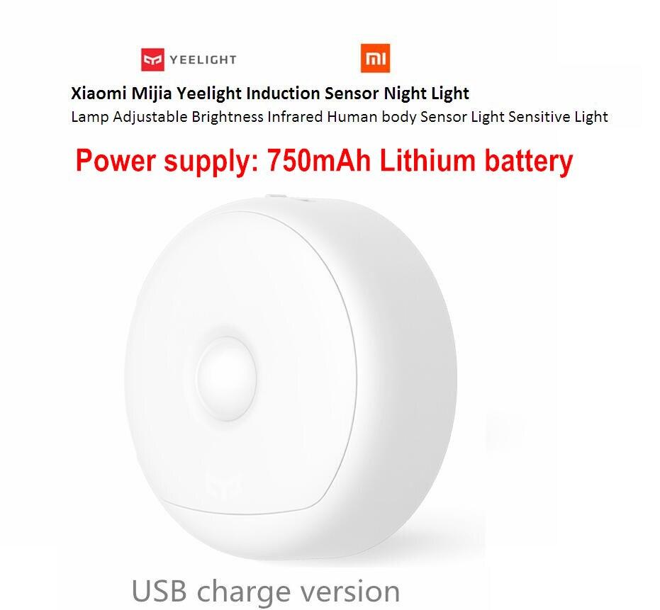 Original Xiaomi mijia Yeelight LED night light Infrared Remote Control human body Motion font b sensor