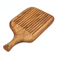 free shipping Scandinavian style solid wood handle with wooden delicacies bread board cutting board plank wood cutting board