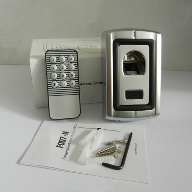 Free Shipping Waterproof  Metal Fingerprint Access Control/Fingerprint Scanner Door Locks For Access Control System free shipping ko4500 optical fingerprint scanner
