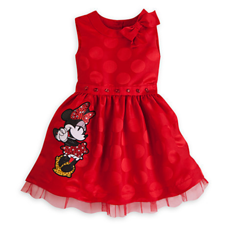 2016 New Girls Dress Summer New Year Minnie Mouse Dot Bow Children Clothing Baby Kids Cute Clothes for 1-7Y Girl's Party Dresses