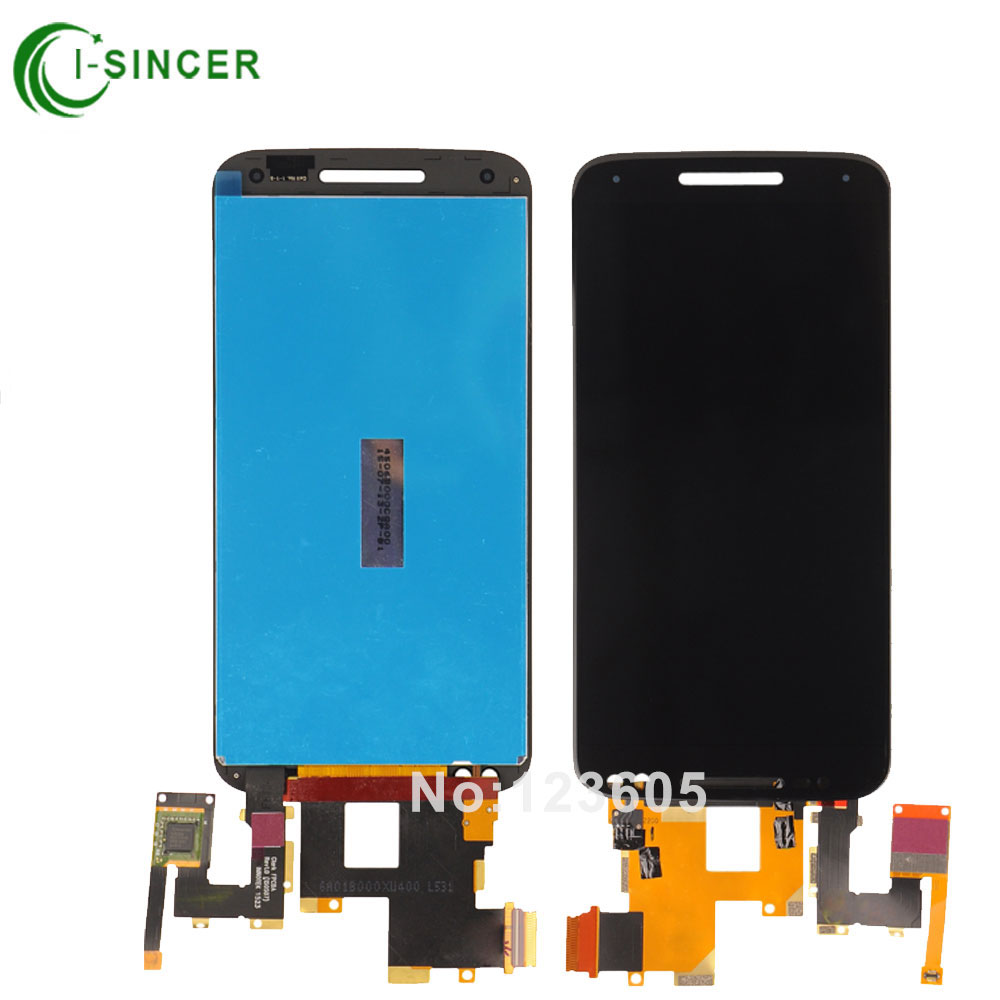 5PCS/LOT For Motorola Moto X style x3s X3 style XT1570 LCD Display Touch Screen Digitizer Assembly Free DHL  5pcs lot for motorola moto x style x3s x3 style xt1570 lcd display touch screen digitizer assembly with frame free dhl