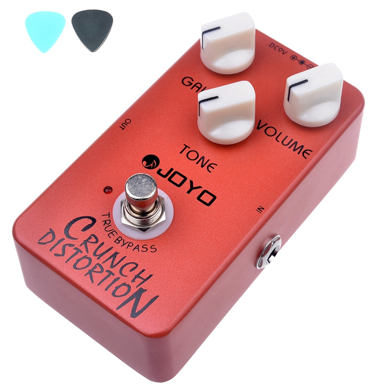 все цены на  JOYO JF-03 Crunch Distortion Effects Guitar Pedal True Bypass  JF03 Pedals Guitar Accessories Mini Size  онлайн