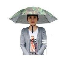 Креативная рыболовная Спортивная Кепка, зонтик, шляпа для пешего туризма, кемпинга, складной солнцезащитный зонт, шляпа, головной убор, для всех возрастов
