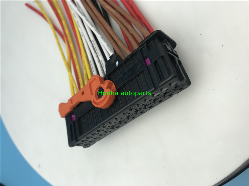1/2/5pcs Security Guard against theft defensive alarm Anti Theft 28 pin female connector <font><b>1K0937702C</b></font> wire harness image