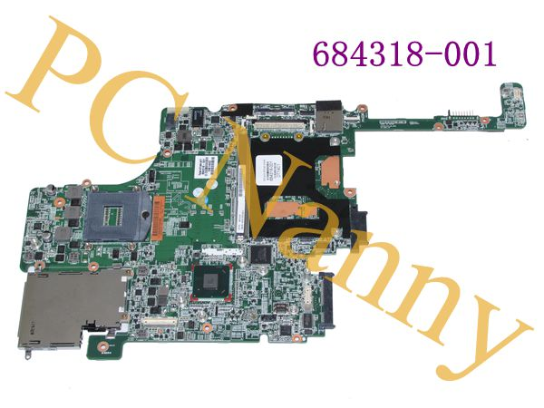 FOR HP 684318-001 System board for HP EliteBook 8560W processors i5 / i7 Motherboard