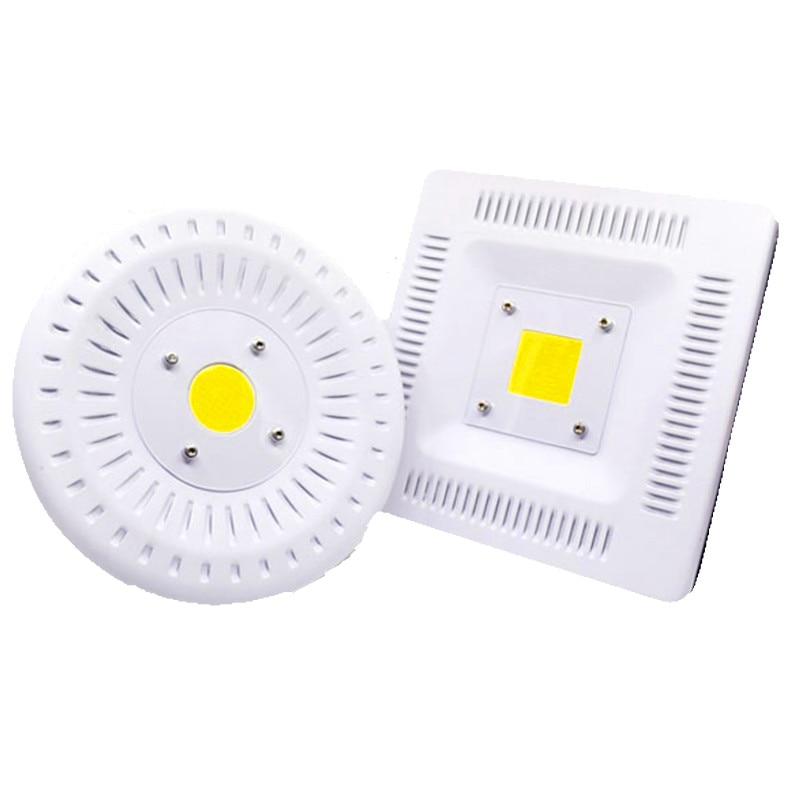 50W Led Floodlight Round Outdoor Spotlight Refletor 230V White Square Flood Light Waterproof IP66 Professiona Lamp