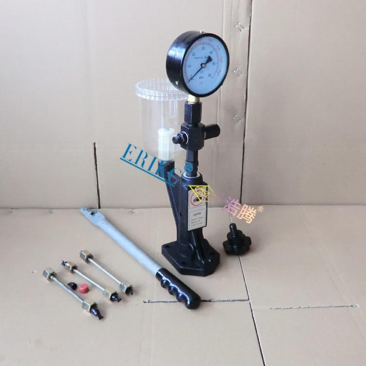 ERIKC SH60 тестер инжектора и пьезо форсунки испытательное оборудование дизельный инжектор испытательное оборудование