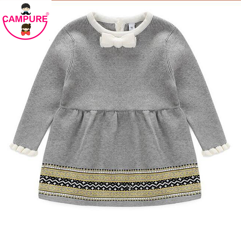 3b2ceec12378 Campure Fashion Autumn Winter Newborn Baby Girls Sweater Princess ...