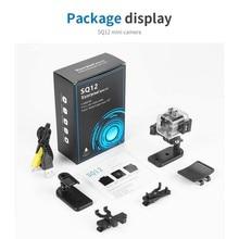 SQ12 Original Mini Camera Outdoor FULL HD 1080P Night Vision Waterproof shell CMOS Sensor Recorder Camcorder