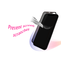 Soft Edge 3D Full Cover Screen Protector Cell Phone Glass Film For Iphone X Tempered Glass