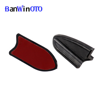 1 pcs Shark Fin Spoiler Diffuser Wing Windshield Vortex Generator for Bumper Roof Windscreen Car Tuning EVO Styling Universal image