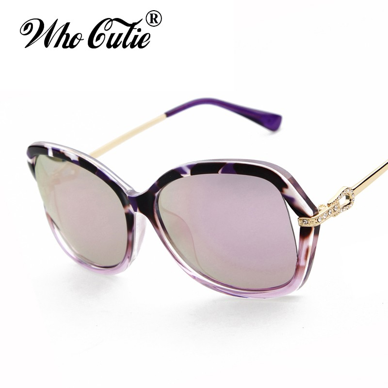 f78efb81af WHO CUTIE Summer 2017 Polarized Butterfly Sunglasses Versae Women Retro  Vintage Tortoise Shell Lady Ray Sun Glasses Shades OM304-in Sunglasses from  Women s ...