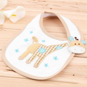 0-3 years baby bibs bib Infant Saliva Towels Newborn Wear Burp Cloths Waterproof Hot Selling - White
