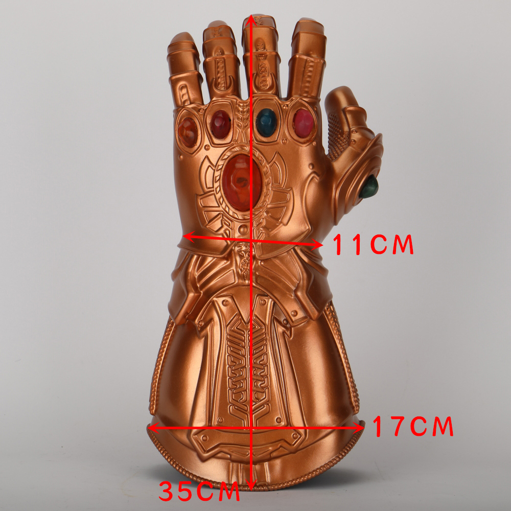 Avengers 4 Endgame Thanos Infinity Gauntlet Cosplay Arm Thanos Latex Gloves Arms Armor Marvel Superhero Weapon Party Props (2)