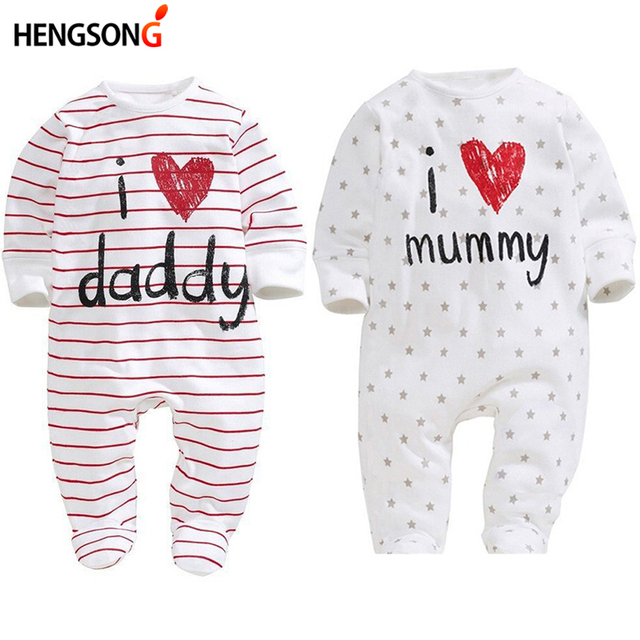 d1a34aa7c5a6 HENGSONG Baby Clothing 2018 New Newborn jumpsuits Baby Boy Girl ...
