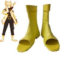 Free Shipping Naruto Shippuden Uzumaki Naruto Rikudou Mode Shoes Anime Cosplay Accessory