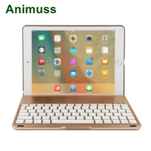 2 in 1 bluetooth Keyboard Case Wireless for Tablet Waterproof Dustproof Foldable Stand Cover Holder iPad Mini 4
