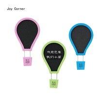 Joy Corner Drop Shipping Memo Board Wood Retro Style Balloon Shape Wooden Notice Board Tableau Chevalet