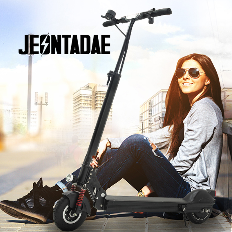 2016 Minimotors New 8 inch 48V 500W Jeontadae Scooter BLDC HUB Strong Power Electric Scooter