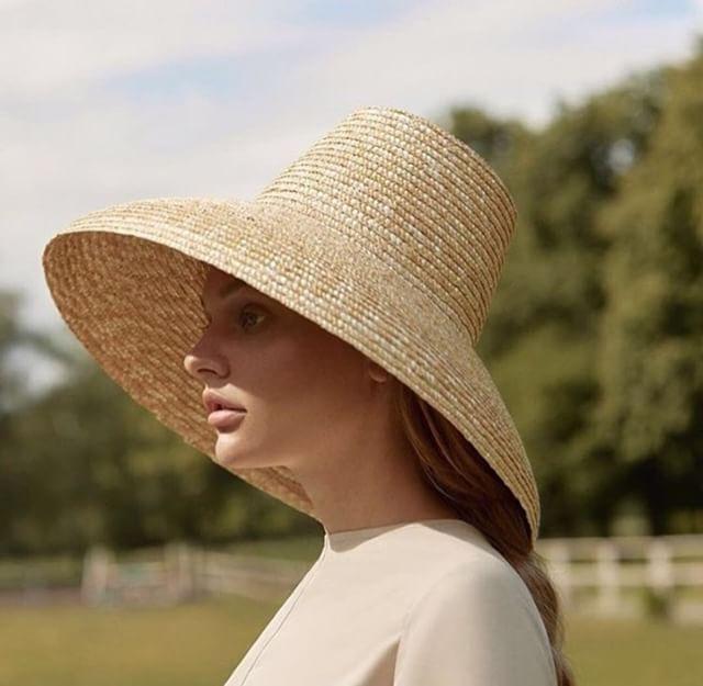 Новинка 2019, дизайнерская летняя соломенная шляпа ручной работы с высоким верхом 01812 hh7266, Женская Солнцезащитная шляпа для отдыха, пляжа