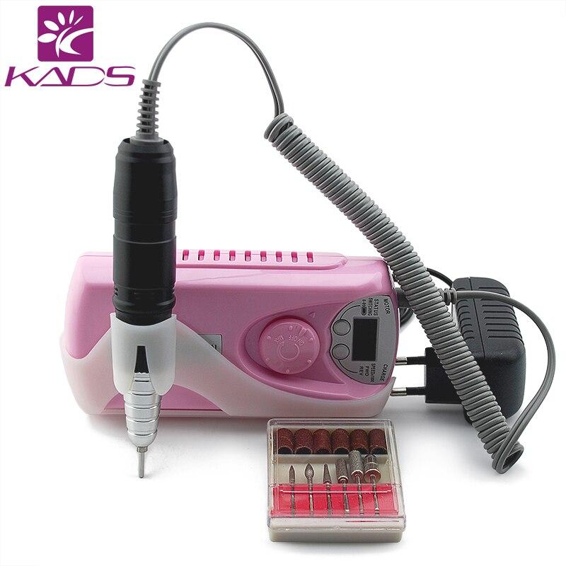 KADS Portable Electric Nail Drill Machine Nail art ...