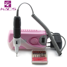KADS Portable Nail Polishing Machine Professional Rechargeable Electric Machine Pedicure Acrylic Electric Nail art Drill Machine
