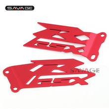 For SUZUKI GSXR 600/750 GSXR600 GSXR750 2006-2015 Footrest Foot Peg Heel Plates Guard Protector Red Motorcycle Accessories