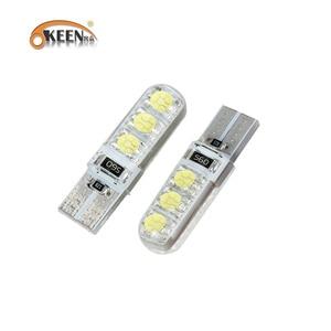 OKEEN car-styling PCS white led car t10 bulb car interior light t10 5w5 canbus led bulb cob marker lamp 5050 LED Light Bulb
