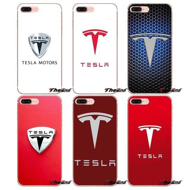 new styles d337e 9acca US $0.99 |Accessories Phone Cases Cover luxury car Tesla Logo For Xiaomi  Mi6 Mi 6 A1 Max Mix 2 5X 6X Redmi Note 5 5A 4X 4A A4 4 3 Plus Pro-in ...