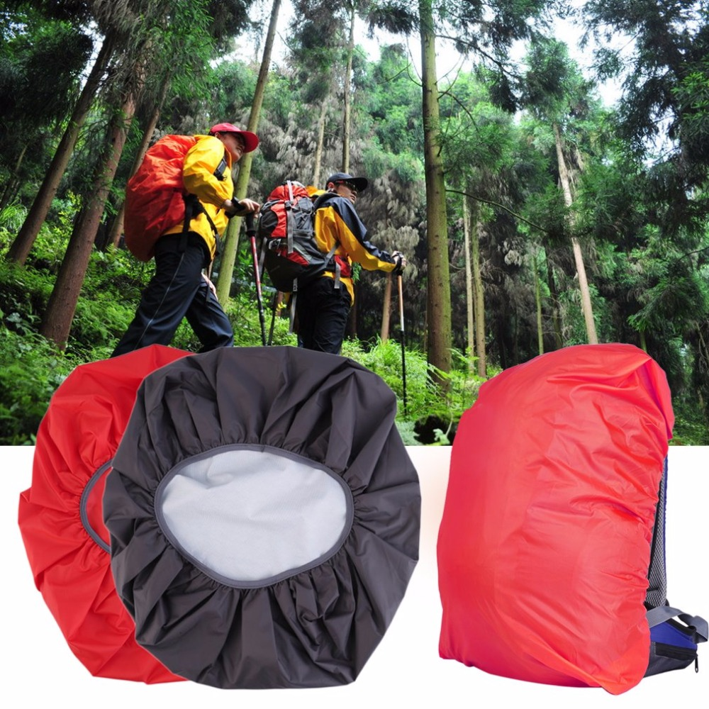 Portable Dust Rain Cover Backpack Rucksack Bag Waterproof Travel Camping Outdoor Hiking Climbing Bicycle 30L-40L Protect Case