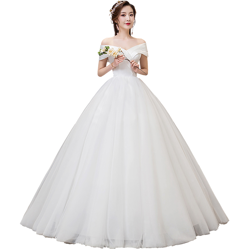 Luxury Wedding Dress Bride Ball Gowns Lace Up Wedding Dresses Women Princess Dresses