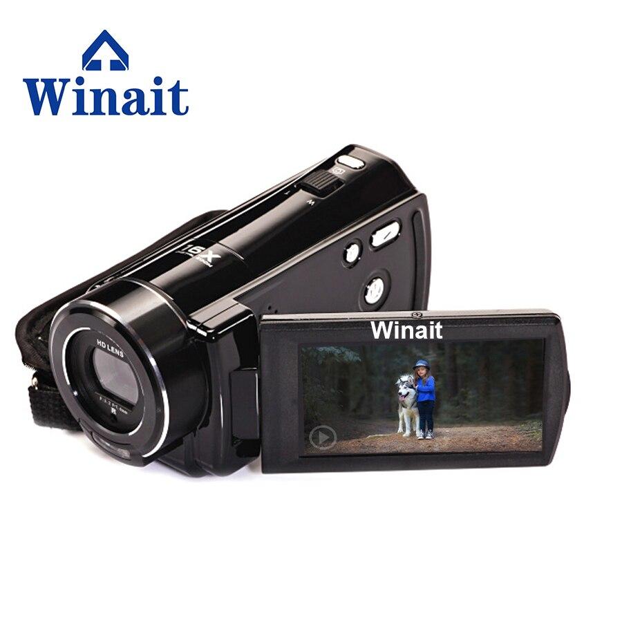 WINAIT hot sell Full HD 1080p HDV-V7 digital video camera with max 24mp free shipping